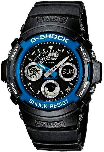 Мужские часы Casio AW-591-2A casio aw 49he 2a