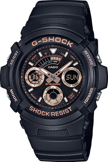 Мужские часы Casio AW-591GBX-1A4 casio aw 591gbx 1a9