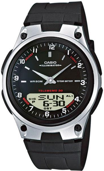 Мужские часы Casio AW-80-1A мужские часы casio aw 591bb 1a