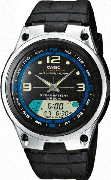 Мужские часы Casio AW-82-1A casio часы casio aw 82 1a