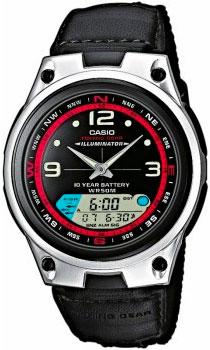 Мужские часы Casio AW-82B-1A casio часы casio aw 82b 1a