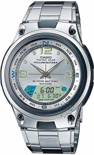 Мужские часы Casio AW-82D-7A casio sheen multi hand shn 3013d 7a