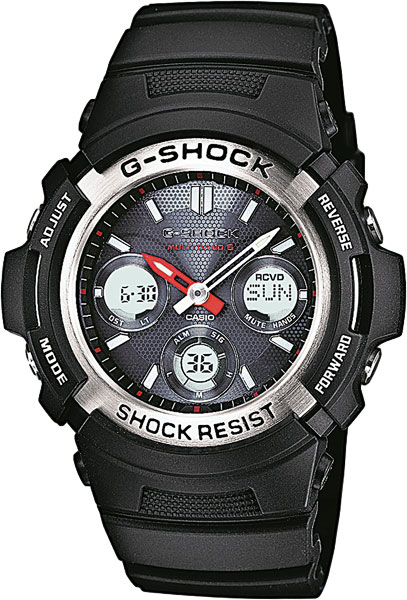 Мужские часы Casio AWG-M100-1A casio awg m100b 1a