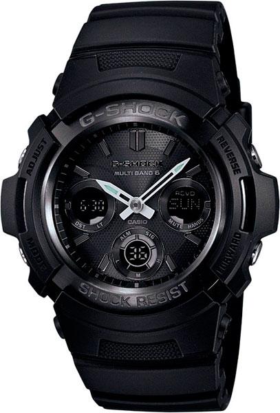 Мужские часы Casio AWG-M100B-1A casio awg m100b 1a