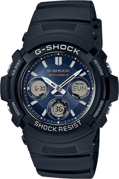 Мужские часы Casio AWG-M100SB-2A casio awg m100