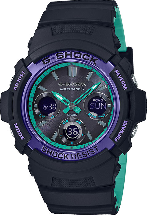 Мужские часы Casio AWG-M100SBL-1AER casio awg m100
