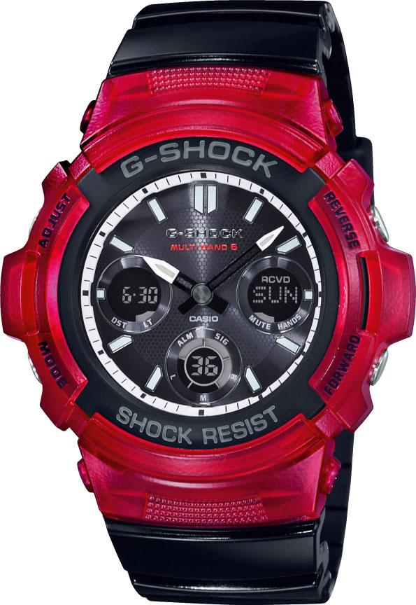 Мужские часы Casio AWG-M100SRB-4AER casio awg m100