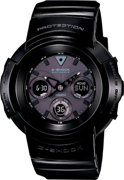 Мужские часы Casio AWG-M510BB-1A casio awg m510bb 1a