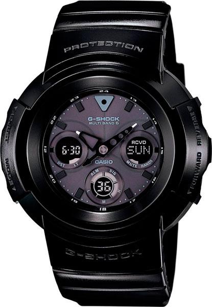 Мужские часы Casio AWG-M510BB-1A casio awg m100b 1a