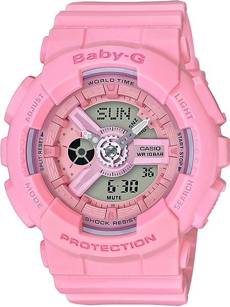 Женские часы Casio BA-110-4A1 часы наручные casio часы baby g ba 120tr 7b