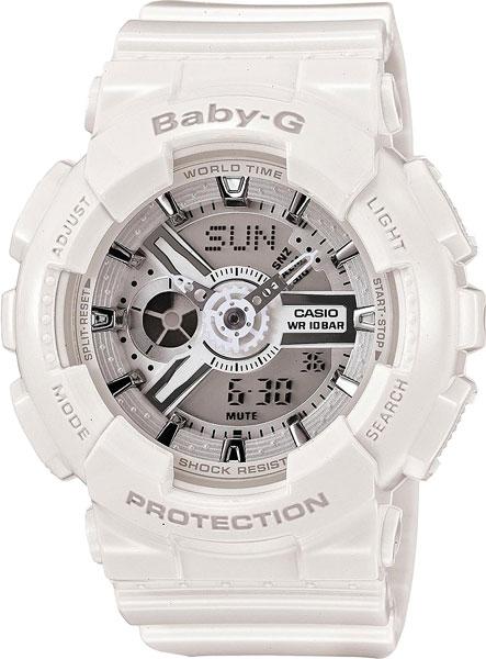Женские часы Casio BA-110-7A3 часы наручные casio часы baby g ba 120tr 7b