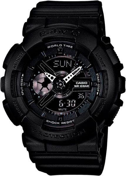 Женские часы Casio BA-110BC-1A часы наручные casio часы baby g ba 120tr 7b