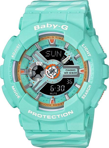 Женские часы Casio BA-110CH-3A casio ba 111 3a