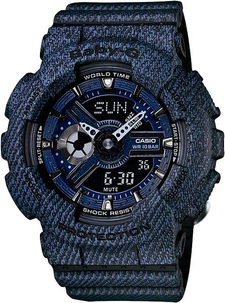 Женские часы Casio BA-110DC-2A1 часы наручные casio часы baby g ba 120tr 7b