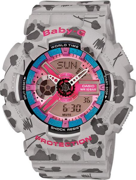 Женские часы Casio BA-110FL-8A цена