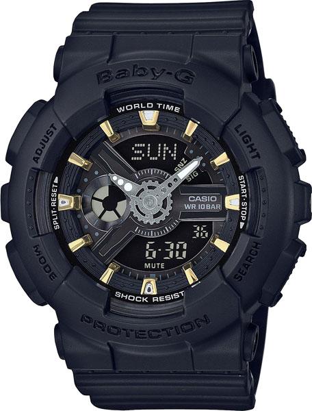 Женские часы Casio BA-110GA-1A casio baby g ba 110ga 1a