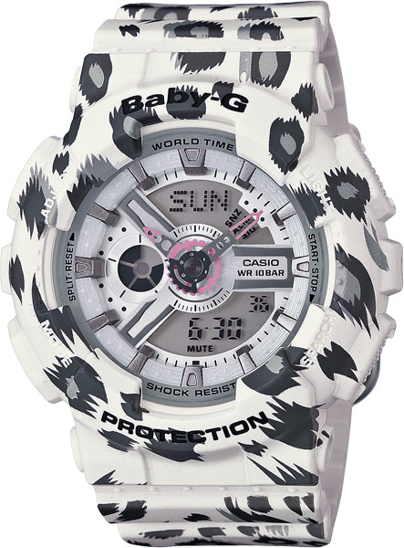 Женские часы Casio BA-110LP-7A