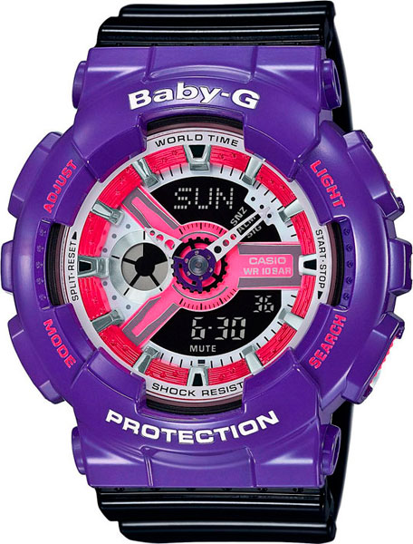 Женские часы Casio BA-110NC-6A casio ba 110nc 2a