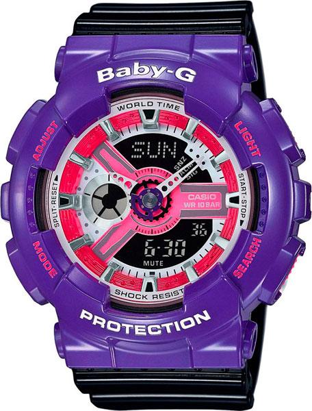 Женские часы Casio BA-110NC-6A casio ga 110nc 6a