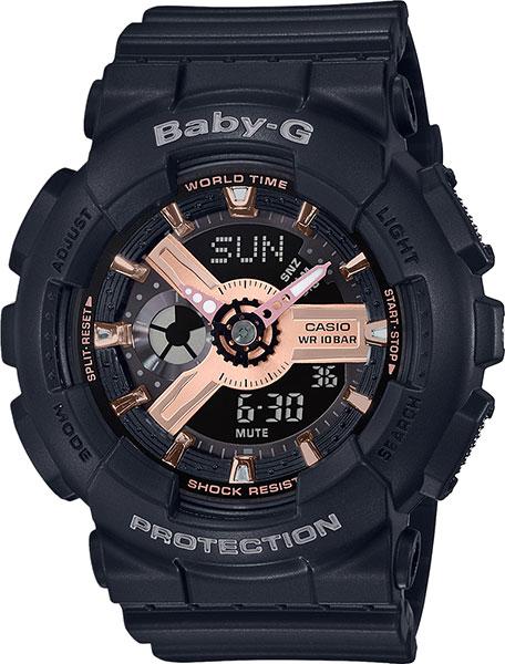 Женские часы Casio BA-110RG-1A casio ga 110rg 1a