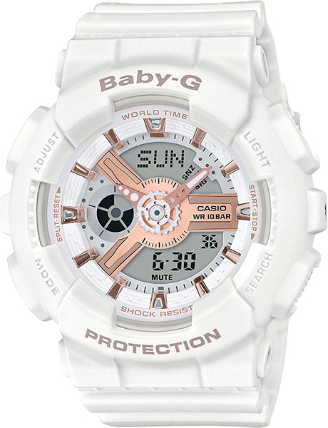Женские часы Casio BA-110RG-7A casio ba 110be 7a