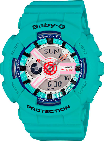ba 110fl 3a Женские часы Casio BA-110SN-3A