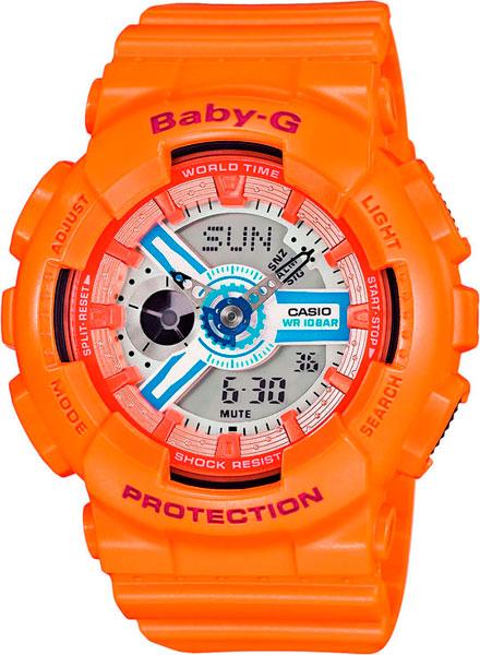 Женские часы Casio BA-110SN-4A часы наручные casio часы baby g ba 110sn 4a