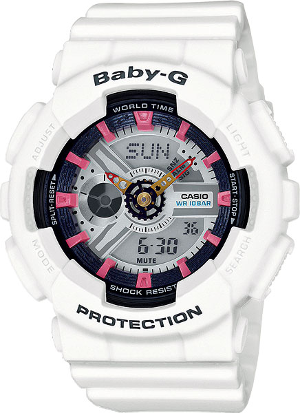 Женские часы Casio BA-110SN-7A casio ba 110be 7a