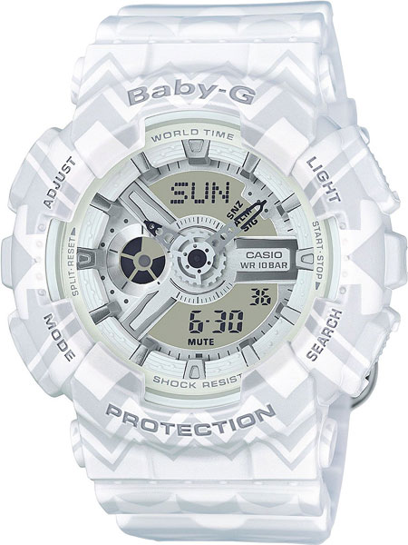 Женские часы Casio BA-110TP-7A casio ba 110be 7a