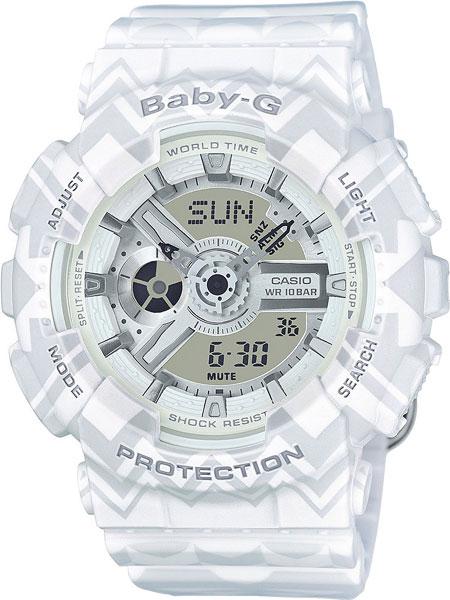 Женские часы Casio BA-110TP-7A часы наручные casio часы baby g ba 120tr 7b