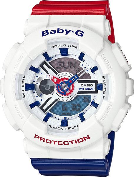 цена Женские часы Casio BA-110TR-7A онлайн в 2017 году