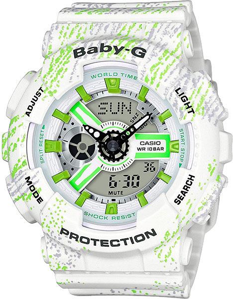 Женские часы Casio BA-110TX-7A женские часы casio ba 110tx 1a