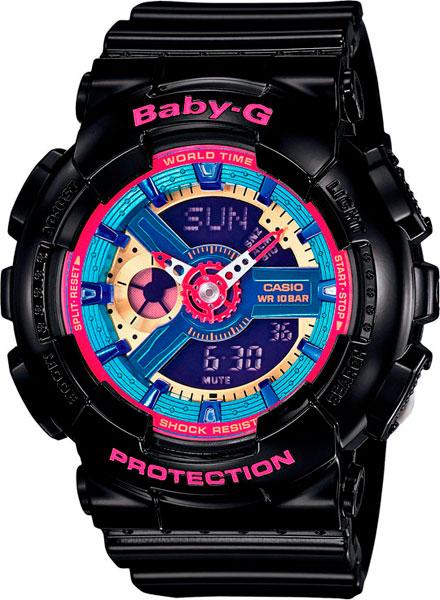 купить Женские часы Casio BA-112-1A по цене 10190 рублей