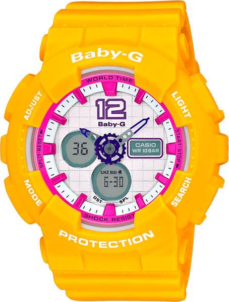 цена Женские часы Casio BA-120-9B онлайн в 2017 году