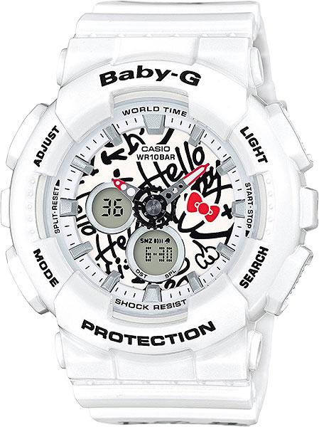 Женские часы Casio BA-120KT-7A casio baby g ba 110tp 7a