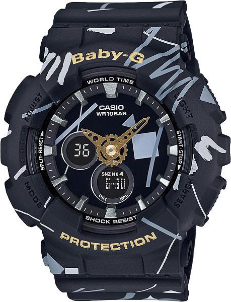Женские часы Casio BA-120SC-1A женские часы casio ba 110tx 1a