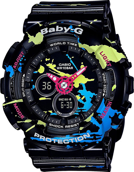 Женские часы Casio BA-120SPL-1A женские часы casio ba 110tx 1a
