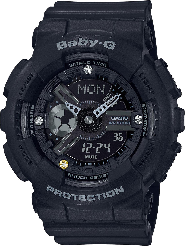 Женские часы Casio BA-135DD-1AER женские часы casio ba 130 1aer