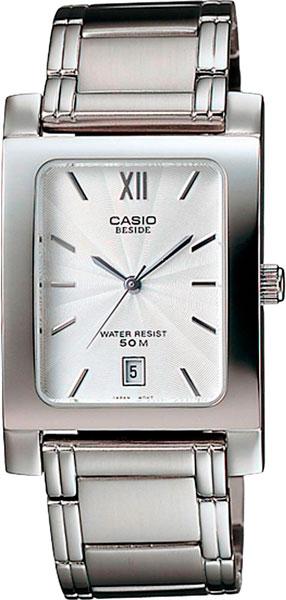 Мужские часы Casio BEM-100D-7A casio часы casio bem 154d 7a коллекция beside