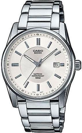 Мужские часы Casio BEM-111D-7A casio часы casio bem 154d 7a коллекция beside