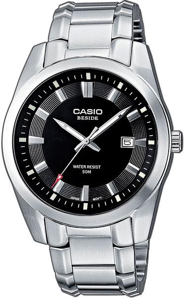 Мужские часы Casio BEM-116D-1A casio часы casio bem 154d 7a коллекция beside