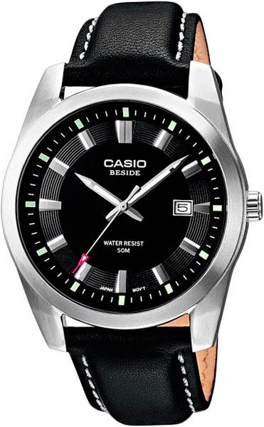 Мужские часы Casio BEM-116L-1A casio часы casio bem 154d 7a коллекция beside