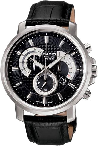 Мужские часы Casio BEM-506L-1A casio часы casio bem 154d 7a коллекция beside