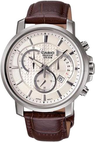 Мужские часы Casio BEM-506L-7A casio часы casio bem 154d 7a коллекция beside