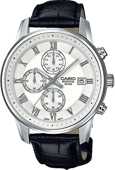 Мужские часы Casio BEM-511L-7A casio sheen multi hand shn 3013d 7a