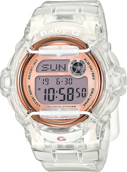 Женские часы Casio BG-169G-7B часы наручные casio часы baby g bg 6903 7b