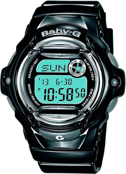 Женские часы Casio BG-169R-1E casio bg 5600gl 1e