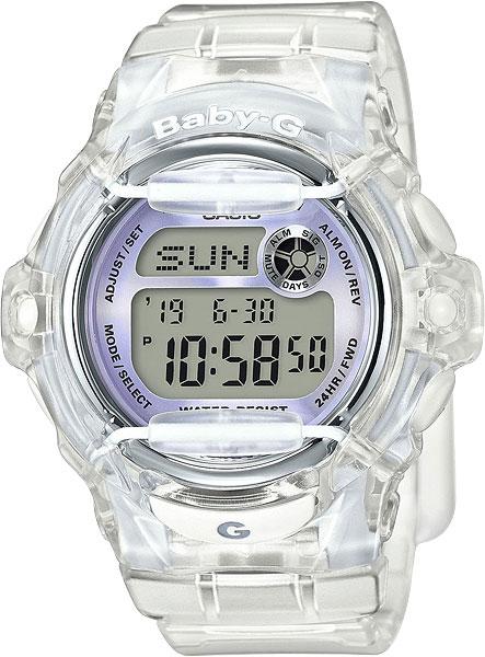 Женские часы Casio BG-169R-7E casio bg 169r 7e