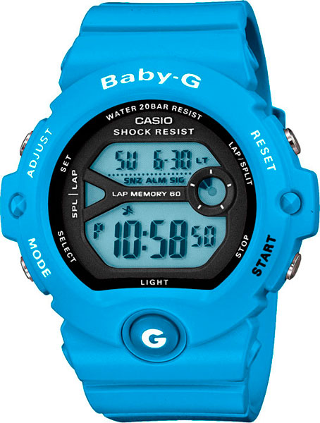 цена  Женские часы Casio BG-6903-2E  онлайн в 2017 году