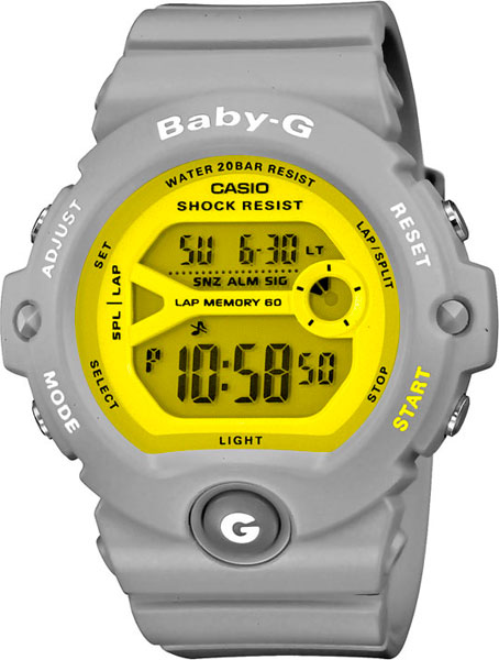 цена  Женские часы Casio BG-6903-8E  онлайн в 2017 году